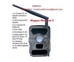 Hunter3G képküldő vadkamera