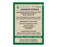 Vadásztanfolyam Győr január 2. hetén indul a tanfolyam.
