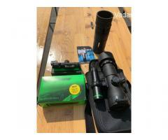 Dipol DN 34 onyx + Laserluchs LA-850-50-PRO-II fényvető + gyári fényvető