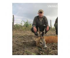 Őzbakvadászat üzekedés ideje alatt , Erdély ,Bánát ,  Bukovina