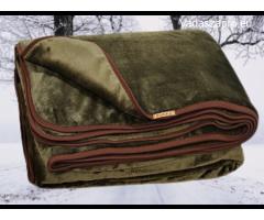 Vadász plüss takaró dupla rétegben