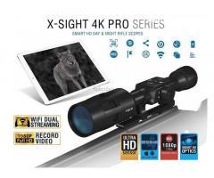 ATN X-Sight 4K Pro 5-20x éjjellátó céltávcső (2db), Sörétes csere érdekkel