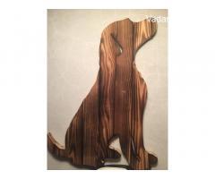 Vadászkutya Labrador falikép