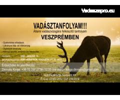 Vadásztanfolyam Veszprémben
