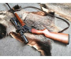 IZH 18 MH. 222 remington Akah optika