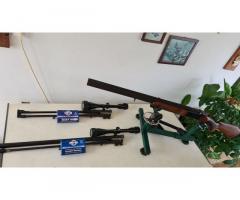 FÉG váltócsöves - sorrendváltós fegyver készlet